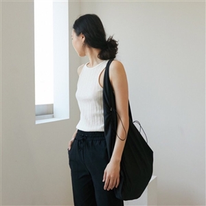 Must Have Every Day String Bag 토템 서울백 (Beige/Black) (will ship within 1~2 weeks)