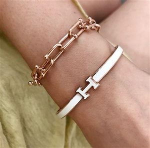 Fani Clip Bracelet (Silver/Gold/RoseGold)  (will ship within 1~2 weeks)