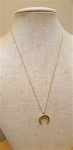 Horn 925 Silver Necklace (will ship within 1~2 weeks)