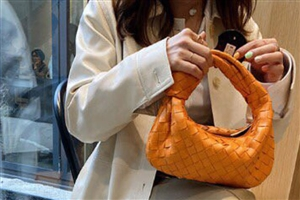 Twisted Woven Bag (Orange/Black/Brown/Ivory) (will ship within 1~2 weeks)