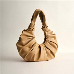 Vegan Leather Tote - Big (Black/Camel/Ivory) (will ship within 1~2 weeks later)
