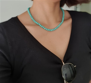 Mint Jade Necklace (will ship within 1~2 weeks later)