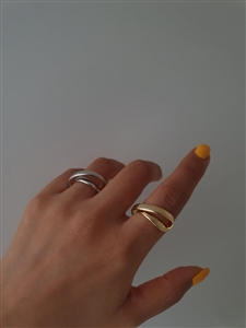 Two CH Ring (Gold/Silver) (will ship within 1~2 weeks later)