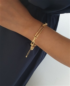 Link Bracelet (Gold/Silver) (will ship within 1~2 weeks later)