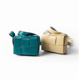 Woven Mini Bag (Black/Green/Blue/Beige/DarkGreen/Brown) (will ship within 1~2 weeks)