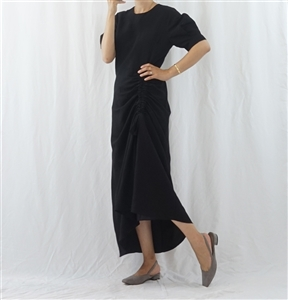(Pre-Order) Black String Linen Dress (will ship within 1~2 weeks)