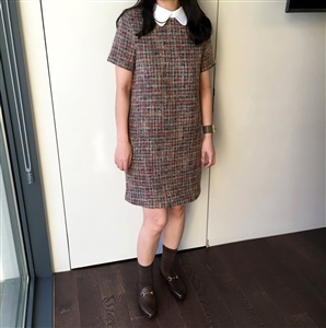 (~11/05) Tweed Dress (will ship within 1~2 weeks)