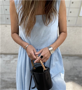 Blue Summer Soft Dress (will ship within 1~2 weeks)