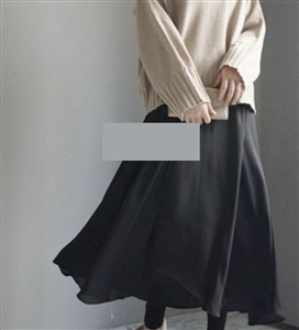 (~01/20) Kimo Chiffon Skirt Leggings (will ship within 1~2 weeks)