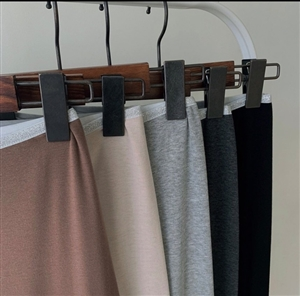 (5Colors Set Special Price) Kimo Leggings (LightBeige/Brown/Charcoal/Melange/Black) (will ship within 1~2 weeks)