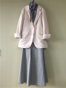 (Pre-Order) Ivory Cotton Jacket (will ship within 1~2 weeks)