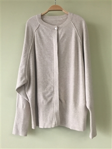 (Pre-Order) Beige Knit Cardigan (will ship within 1~2 weeks)