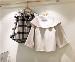 (~9/20) Handmade Celine Coat (Check/Ivory) (will ship within 1~2 weeks)