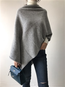 (~11/02) Cashmere Shawl (Black/Gray/Ivory) (will ship within 1~2 weeks)