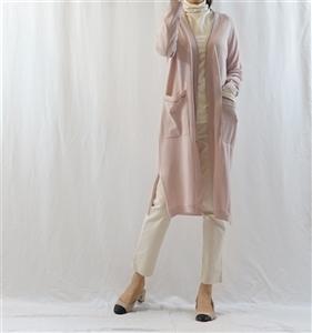 (Best) Pink Cucinelli Cardigan