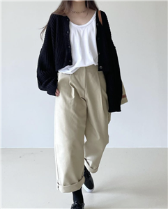 Black Cardigan (will ship within 1~2 weeks)
