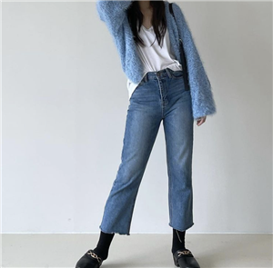 Blue CC Cardigan (will ship within 1~2 weeks)