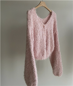 Pink CC Cardigan (will ship within 1~2 weeks)