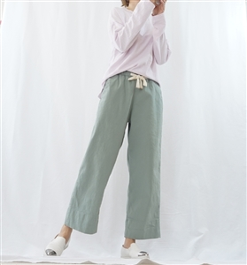 (Best; 2nd Reorder; Back-Order) Mint Spring Cotton Pants (S/M) (will ship within 1~2 weeks)