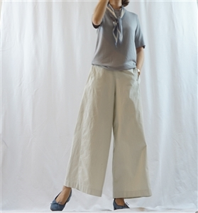 (Pre-Order) Ivory Wide Pants (will ship within 1~2 weeks)
