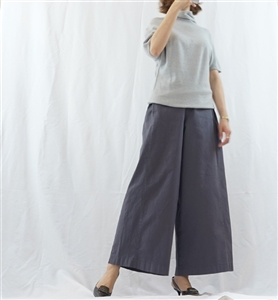 (Pre-Order) Charcoal Wide Pants (will ship within 1~2 weeks)