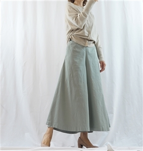 (Pre-Order) Mint Skirt Pants (will ship within 1~2 weeks)