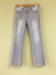 (Must-Have; Pre-Order) Ice Gray Bootcut Jeans (S/M/L) (will ship within 1~2 weeks)