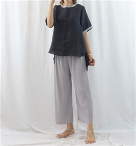 (Pre-Order) Gray Pleated Pants (will ship within 1~2 weeks)