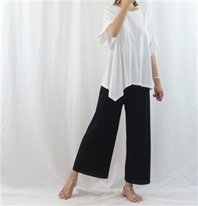 (Pre-Order) Black Pleated Pants (will ship within 1~2 weeks)