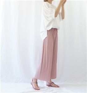 (Pre-Order) IndiPink Pleated Pants (will ship within 1~2 weeks)