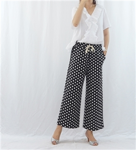 (Pre-Order) Black Dot Pants (will ship within 1~2 weeks)