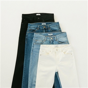 Premium Ankle Denim Pants (55/66) (will ship within 1~2 weeks)