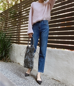 Unique Bottom Jeans (S/M/L) (will ship within 1~2 weeks)
