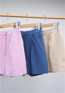 Balen Short Pants (Pink/Beige/Navy) (will ship within 1~2 weeks)
