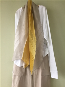 (Pre-Order) Yellow 3 Colors Scarf (will ship within 1~2 weeks)