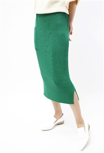 (Pre-Order) Cashmere Knit Skirt (Black/Gray/Green/Beige/Ivory) (will ship within 1~2 weeks)