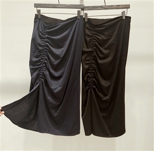 (Pre-Order) String Skirt (Navy/Black) (will ship within 1~2 weeks)