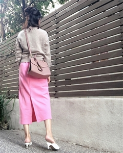 Spring Color Skirt (Pink/Mint) (will ship within 1~2 weeks)