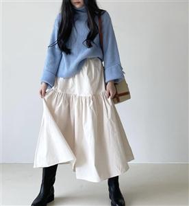 Cream Lanvin Skirt (will ship within 1~2 weeks)