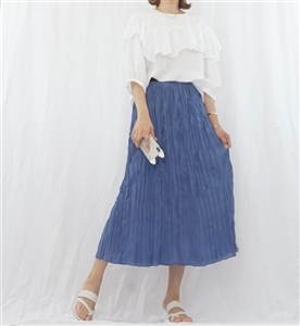 (Best; Back-Order; 3rd Reorder) Ivory Chloe Blouse (will ship within 1~2 weeks)