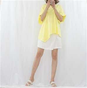 (Best; Back-Order; 2nd Reorder) Lemon Unbalanced Top (will ship within 1~2 weeks)