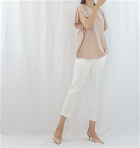 (Pre-Order) Pink Beige Angel Top (will ship within 1~2 weeks)