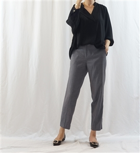 (Best) Black Chloe Blouse (will ship within 1~2 weeks)