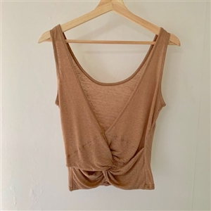 Pilates Top (Beige/Black/Ivory) (will ship within 1~2 weeks)