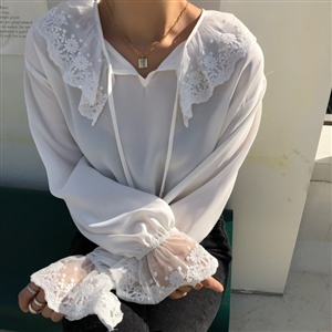 Lace Blouse (will ship within 1~2 weeks)