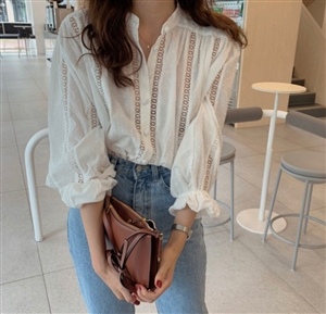 FW New Arrival Lace Blouse (will ship within 1~2 weeks)