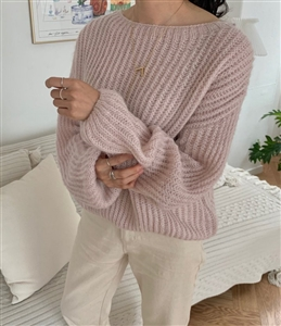 Vanessa Knit (Blue/Gray/Pink/Violet) (will ship within 1~2 weeks)