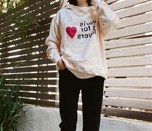 Paris Lover Hoodie (will ship within 1~2 weeks)