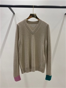 Two Color Cashmere 100 Knit (S/M/L) (will ship within 1~2 weeks)