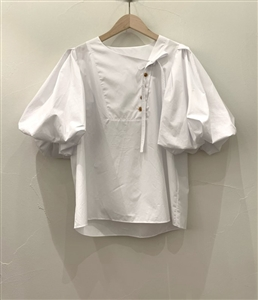 Johns Shirring Blouse (will ship within 1~2 weeks)